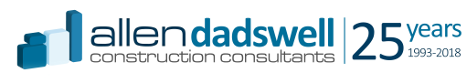 Allen Dadswell Construction Consultants logo